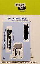 Straight Talk Sim Card • Att At&T Motorola Moto One 5G Moto One 5G Ace - Read!