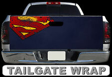 T233 SUPERMAN Tailgate Wrap Decal Sticker Vinyl Graphic Bed Cover