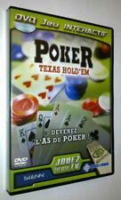POKER/TEXAS HOLD'EM - DVD Interactif - TBE