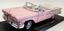 Road Legends 1/18 Scale Model Car 92298 - 1958 Edsel Citation - Pink