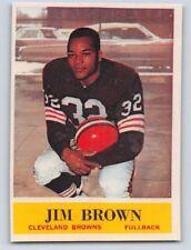 1964  JIM BROWN - PHILADELPHIA Football Card - # 30 -CLEVELAND BROWNS -(Reprint)