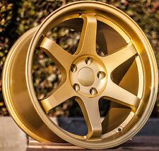 Varrstoen Es2 18X10.5 5X114.3 Et22 Gold (1 Wheel Only)