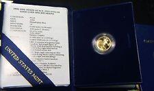 1990-W US Mint~~AMERICAN GOLD PROOF EAGLE~~5TH YEAR~~$5 GOLD PROOF W/ COA