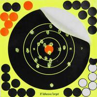 "10pcs 8"" Self-adhesive Splatter Reactive Shooting Targets for BB Pellet Air Gun"
