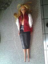 Barbie Puppe - mit Kleidung - 29 cm  Format - 70 er Jahre-Hong Kong