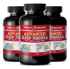 ADVANCED SLEEP FORMULA 952MG - Anti-aging powder - Brain booster focus - 3 Bot