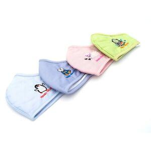 8 x NANOSILBER KIDS Mundschutz Kindermaske Waschbar Antiviral in 4 Farben