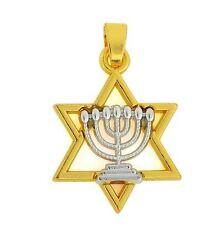 Menorah on star of David, Messianic Jewish Interest! Yeshua!
