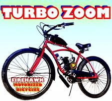 "USA SELLER NEW 2019 TURBO ZOOM 50 80 CC GAS MOTOR ENGINE & 26"" BIKE SCOOTER KIT"