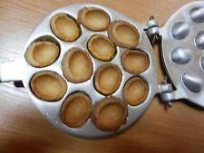 PetriStor Walnut 12 Cookie Mold (Oreshek) Maker Oreshki Rissian Soviet Cookies