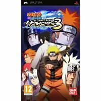 Naruto Shippuden : ultimate Ninja heroes 3 | Jeu complet Sony PSP