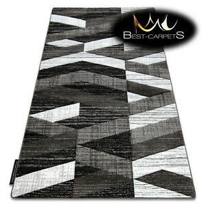 MODERN Amazing New design RUG 'ALTER' Stripes grey Thick CHEAP Best-Carpets