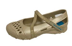 Skechers women's shoes rubber Mary Jane walking work water size US 7