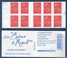 Carnet – 3744 C11 – RGR-2 - Type Marianne de Lamouche – Opéras de Mozart 2005