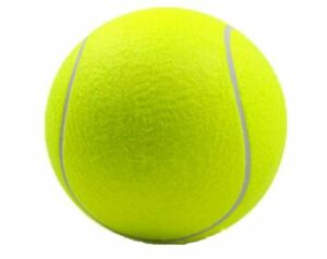 """9.5"""" Pet Tennis Ball Bright Yellow Identical to Official Tennis Ball Only Large!"""