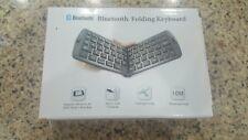 iPhone, iPad/Android Tablet & PC Folding Mini Bluetooth Wireless Keyboard