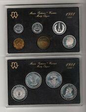 Poland coin sets (1981, 1986, 1990, 2012)
