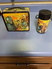 Vintage Aladdin Industries, Co. Metal / Tin Lunch Box Planet Of The Apes