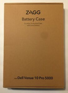 NEW ZAGG USB-C Protective case with battery for Dell Venue 10 Pro 5000 Tablet