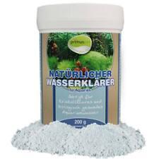 (5,--€/100g) Natürlicher Wasserklärer fürs Aquarium 200 g für klares Wasser UVC