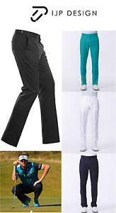 New Ian Poulter Tour Tech Golf Trousers T72 Water Repellent UPF 40 Pin Tuck IJP