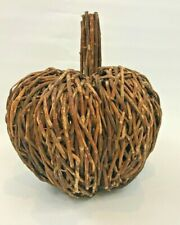 Vintage Pumpkin Handmade Grapevine Farmhouse Thanksgiving Decoration Decor
