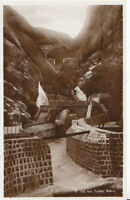 Middle East Postcard - Yemen - Aden - Up The Tanks - Real Photograph - Ref 6751A