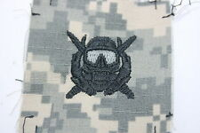 GENUINE US ARMY  ISSUE PAINTBALL SPECIAL FORCES COMBAT DIVER CLOTH BADGE