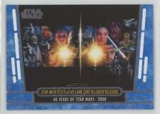 2017 Blue #84 Star Wars Roleplaying Game Core Rulebook Released Card 1h5