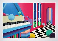"""Stan Solomon,""""Grand Ballroom"""" Silkscreen, SERIGRAPH SN LE 122/300 COA"""