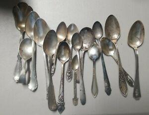 270 Grams Scrap Sterling Silver Spoons