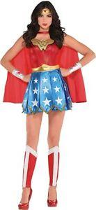Wonder Woman Costume - Womens 8 Piece Adult Costume Size: Medium (Cosplay)