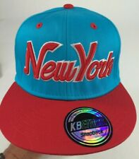 New York KB-ETHOS Adjustable, Ball Cap, Blue Red, NWT