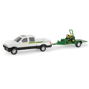 Ertl 1:32 Scale John Deere Z930M ZTrak Mower w/ Pickup Truck & Trailer