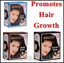 Eagle's Henna Color Hair Dye Henna Hair - Promotes hair Growth 6 Packs of 10g