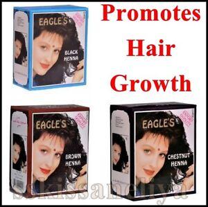 Eagle's Henna Color Hair Dye Henna Hair - Promotes hair Growth 6 Packs of 10g
