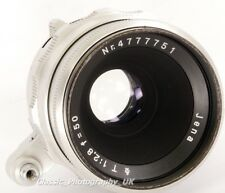 Carl ZEISS Jena T ( TESSAR ) ASB 1:2.8 f=50mm EXAKTA SLR fit also for Micro 4/3