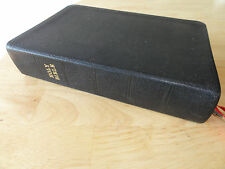 1969 - Holy Bible, New Scofield Reference Edition, KJV version, Leather Cover