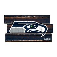 Seattle Seahawks Defense Holzschild XL  63 cm ! !,NFL Football,Fence Sign