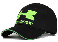Kawasaki Hat Baseball Cap New Racing Motorcycle Ninja Curved Free Shipping Black