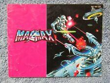 Magmax manual - no game .... NES Nintendo