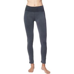 Splendid Womens Gray Fitness Yoga Running Athletic Leggings M  4817