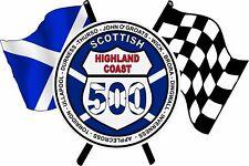 Scottish Highland Coast Flags Camper Van Caravan Exterior Decal Scotland