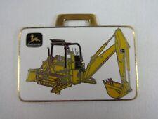Machinery Corp. Metal Watch Fob John Deere Bulldozer Backhoe Richards
