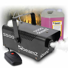 s500 Remote Control Smoke Machine, 5 Litre Quality Fluid Halloween Theme Party