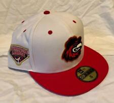 ROCHESTER RED WINGS MiLB NEW ERA 59FIFTY FITTED LEAGUE SIDEPATCH HAT SZ 8 NWT