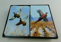 Vintage 2 Decks Playing Cards Fowl Pheasant Birds