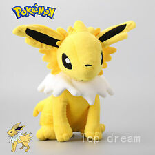 Jolteon Thunders Pokemon Plush Soft Toy Character Stuffed Animal Doll Teddy 12""