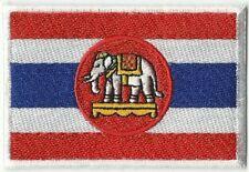 ECUSSON  PATCH PATCHE THERMOCOLLANT DRAPEAU THAILANDE ELEPHANT DIM 7 X 5 CM