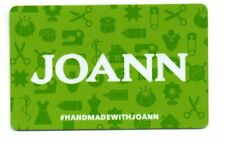 Joann Fabric Green Gift Card No $ Value Collectible